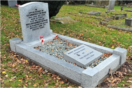 restored grave