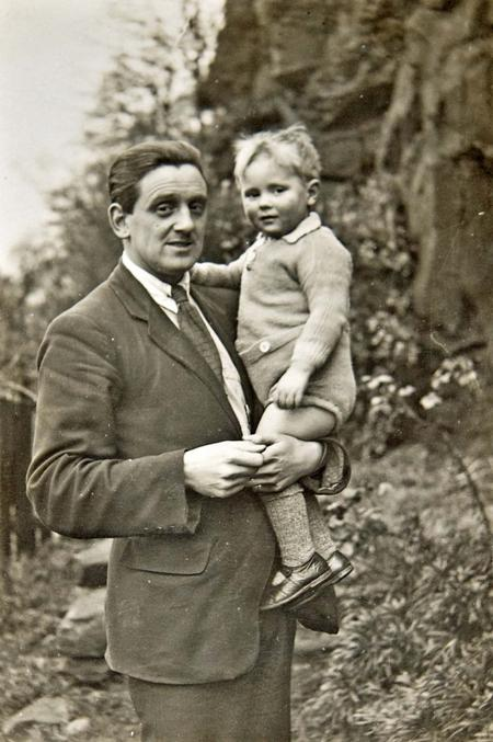 Bert with his son, George, circa 1923