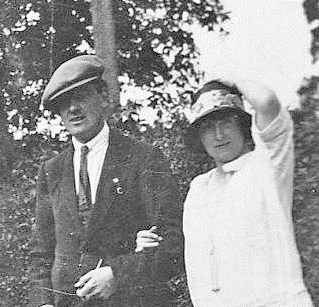 Albert and his wife Janet circa 1925