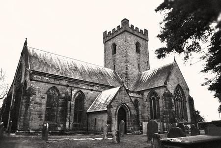 All Saints Church in Leigh