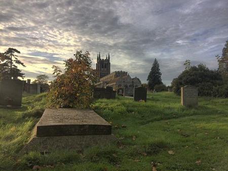 Edward Blunden's Grave