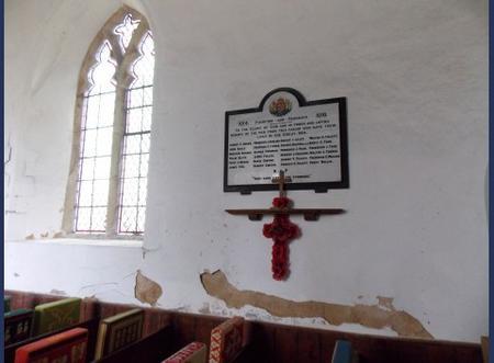 WW1 memorial, Flempton