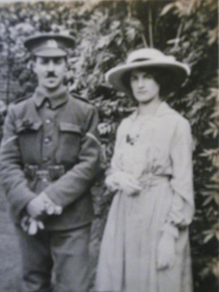 Traffords wedding to Stella Augusta Stevens 1915