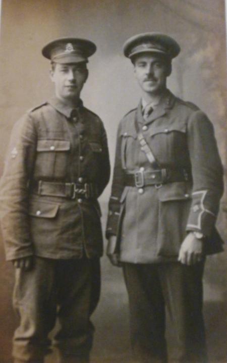 Trafford Hall Eley & brother Stanley Arthur Eley i