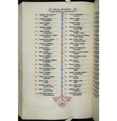 Welsh Book of Remembrance