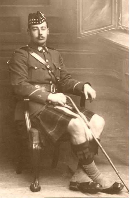 Captain George Andrew Christie Moir