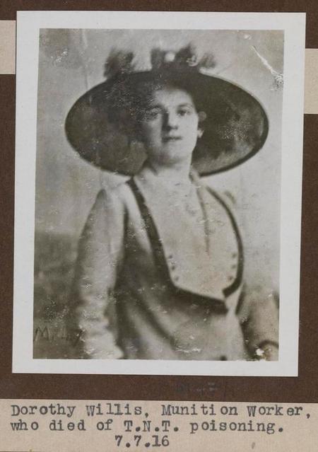 Profile picture for Dorothy Maud Rebecca Willis