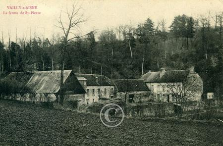 The Farmhouse at St. Pierre, Vailly sur Aisne