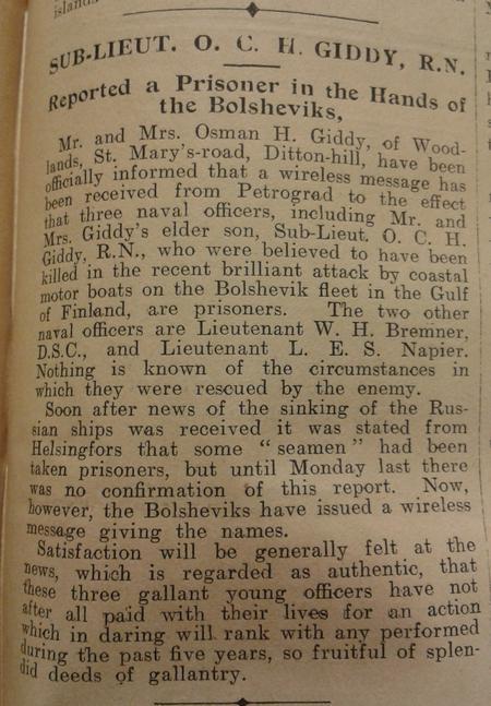Surbiton Times 5 September 1919 p5