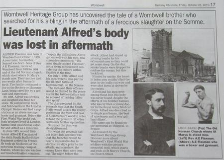 Alfred Flaxman Article