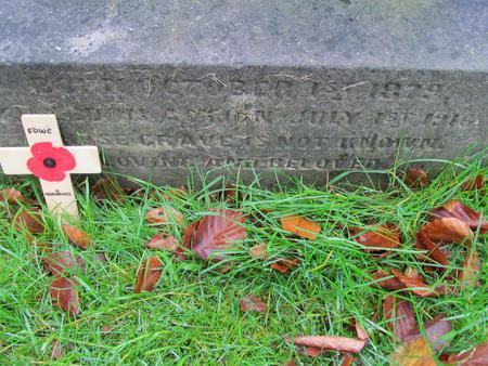 Headstone Inscription 2