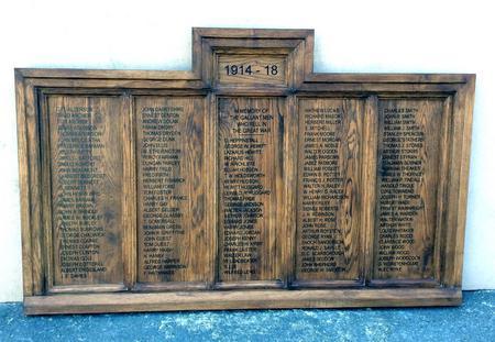 New St John's Memorial