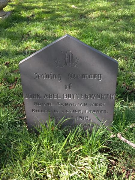 Profile picture for John Abel Butterworth
