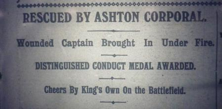 Rescued by Ashton Corporal