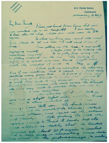 Walter's letter