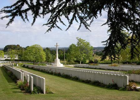 Chauny Communial Cemetery British Extension.