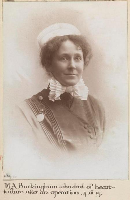 Profile picture for Maude Amy Buckingham