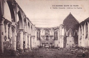 The Destroyed Church of Vieille Chapelle