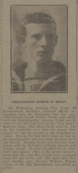 Profile picture for Joseph Wilson Grant