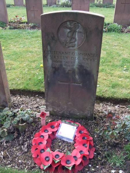 Grave of Frederick Kelly, Martinsart Cemetery
