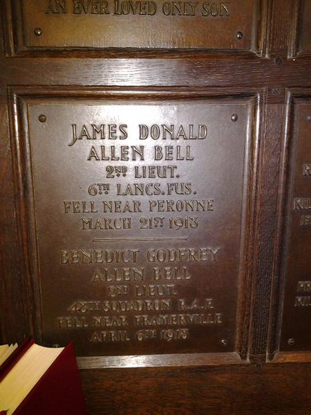 Profile picture for James Donald Allen Bell