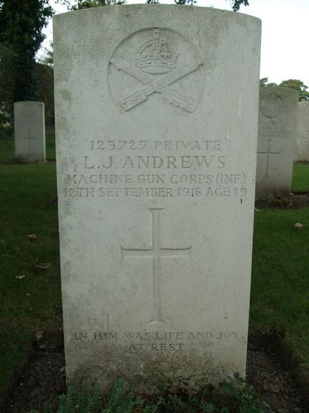 Profile picture for Leslie John Andrews