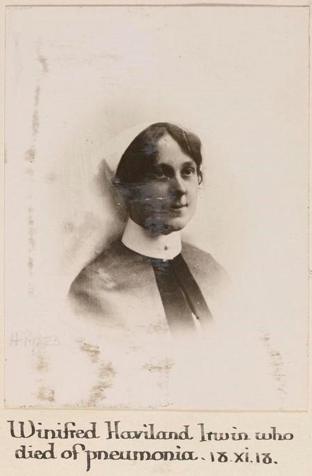 Profile picture for Winifred Haviland Irwin