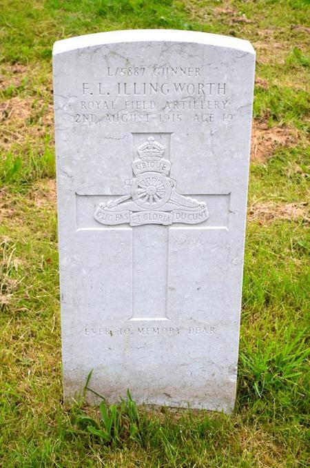 Profile picture for Frederick Lawrence Illingworth