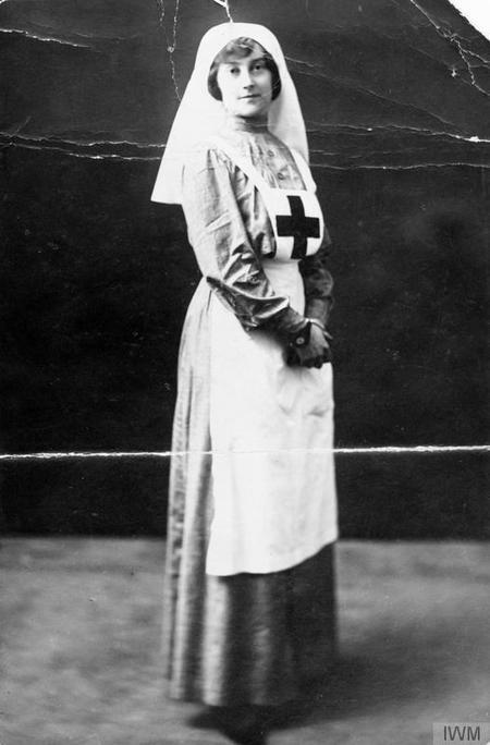 Nurse Florence Farmborough in uniform