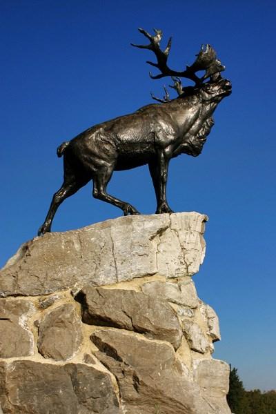 The Caribou Memorial at Beaumont Hamel