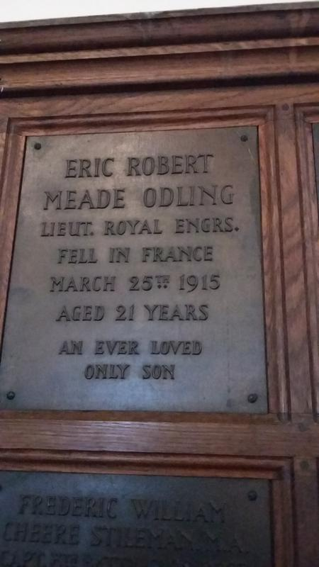 Profile picture for Eric Robert Meade Odling