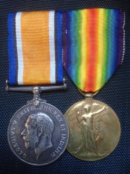William's service medals