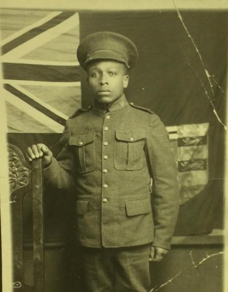 Harrison Webster, 2nd Construction Battalion, CEF