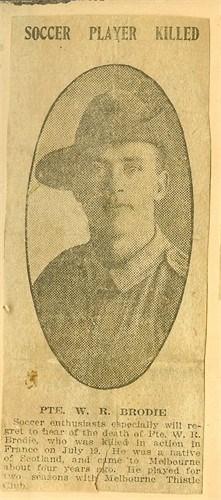 Profile picture for William Reid Brodie