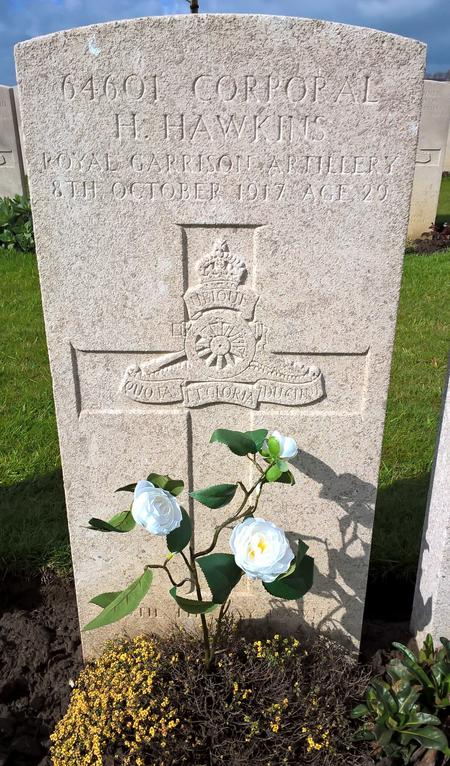 Remembered at Bard Cottage, Ieper, Belgium