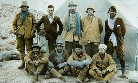 the 1924 expedition team