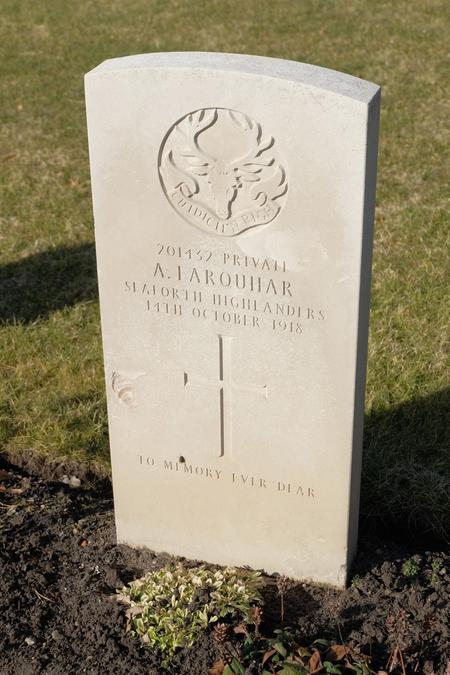 Private Alexander Farquhar