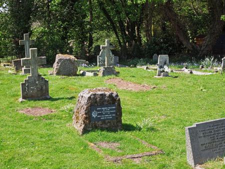 John Osborn Walford's headstone.
