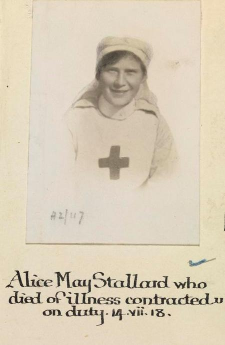 Profile picture for Alice May Stallard