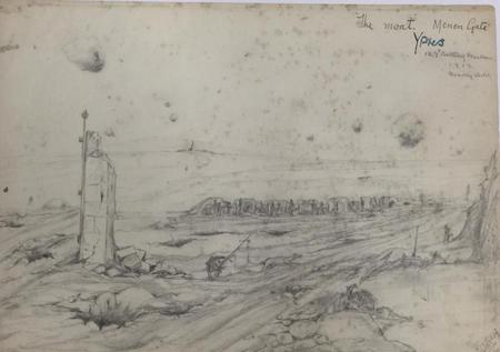 the moat. Menin Gate - Ypres