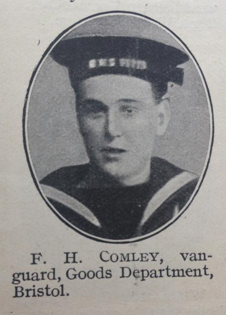 Profile picture for Frederick Harold Comley