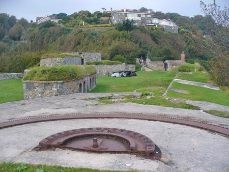 Fort George, Guernsey, Channel Islands