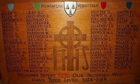 Burnley Grammar School memorial
