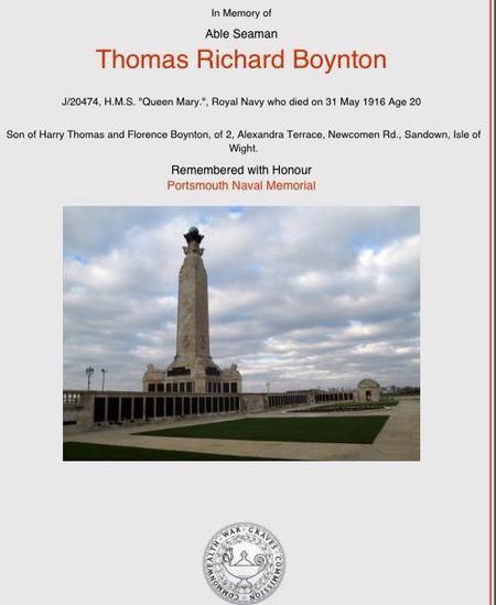 Profile picture for Thomas Richard Boynton