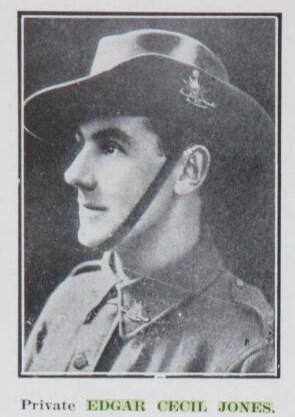 Profile picture for Edgar Cecil Jones