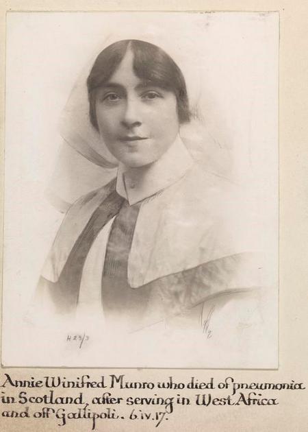Profile picture for Annie Winifred Munro
