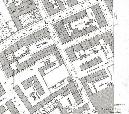 Lower Nelson St. showing Eagle Inn