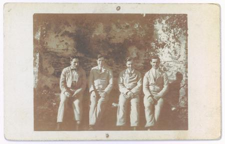 Group photograph of Cyril