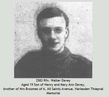 Profile picture for Walter Davey