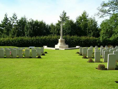 Tourgeville Military cemetery